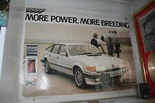 GENUINE ROVER SD1 DEALER SHOWROOM POSTER 2600 VANDEN PLAS NOT SDi 3500 2000 2300
