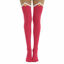 NEW Sailor Moon Boots Tights Socks Size M/L (1 Pair) Official SM-0096 US Seller