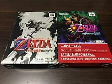 Legend of Zelda Majora's Mask and Ocarina of Time set Nintendo64 N64 JAPAN zel05