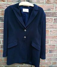 Size 14 Country Casuals Navy Dark Blue Blazer Jacket Vintage Womans Formal Smart
