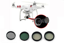 For DJI Phantom3 Camera Lens Filter MCUV/ND4/ND8/CPL/Lens Cover Kits