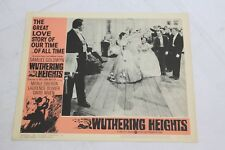 "Wuthering Heights Original Movie Lobby Card 11"" x 14"" 1939 Merle Oberon Niven"
