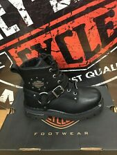 Harley Davidson Women's Becky Boots D87048 Black retail $160.00 NIB Size 6.5