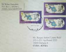 O) 1993 KAZAKHSTAN, PRESIDENT NASARBAJEV -MAP - SC- 40, TO CARIBE