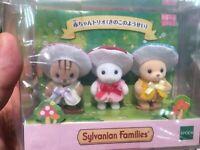Sylvanian Families BABY TRIO Mushroom Fairy EPOCH Calico Critters [Fedex/DHL/JP]