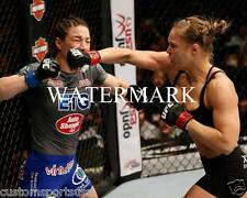 RONDA ROUSEY vs SARA MCMANN MMA UFC Fighter 8 x 10 Glossy Photo