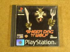 PS1 GAME / SHEEP, DOG 'N' WOLF (PLAYSTATION 1)