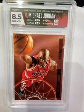 Michael Jordan Card 1993-94 Upper Deck SE Behind The Glass #G11 HGA 8.5 NM-MT