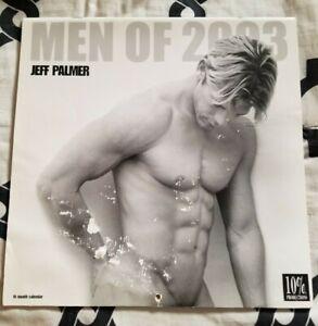 MEN OF 2003 CALENDAR Jeff Palmer Clean Male Strippers Gay Beefcake Himbos