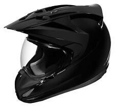 Icon Variant Solid Gloss Black Helmet New Small SM