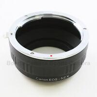 Canon EOS EF mount Lens to Sony E Mount NEX Adapter A7 A7R NEX-5T 7 A5000 A6000