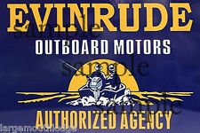 Evinrude Motors Building Sign Decal 3X2 More Sizes Avail