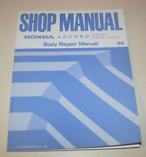 Body repair manual Honda Accord Coupe / Aero Deck - Edition 1994!