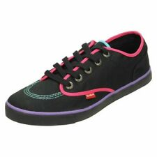 Ladies Kickers Sneakie Lace Up - Canvas Shoes