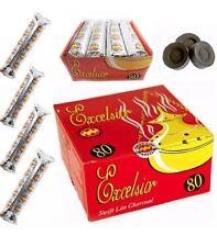 SWIFT LITE ORIGINAL CHARCOAL, FULL BOX 80 TABLETS BAKHOOR INSENSE SHISHA HOOKAH