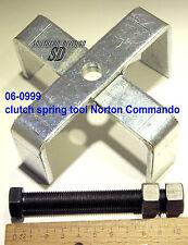 Outil Norton Commando pochette diaphragme spring compresseur 06-0999 vorspanner ressort