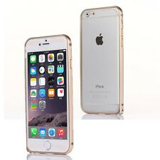 "Gold Aluminum Metal Bumper Case for Apple iPhone 6 6S 7 (4.7"")"