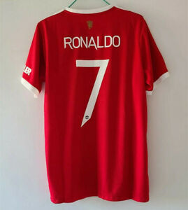 Manchester United No.7 Ronaldo Fans Version Red Jersey