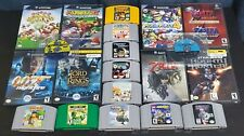 Nintendo 64 & Gamecube Games: Mario, Zelda, Donkey Kong, Star Wars, and more!