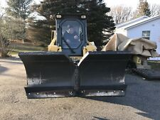 "Bobcat 72"" V Snow Plow Blade Attachment Bobcat Skid Steer Loader 6' Wing"