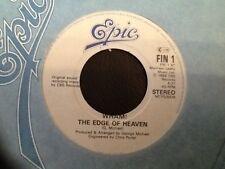 WHAM . THE EDGE OF HEAVEN / WHAM RAP 89  U.K No.1. George Michael