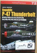 Republic P-47 Thunderbolt Xp-47B, B,C,D,G - Topdrawings Kagero
