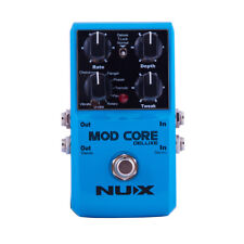 NuX Mod Core Deluxe - Modulation Pedal with 8 Effects