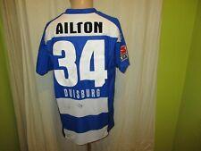 """MSV Duisburg uhlsport Heim Trikot 2007/08 """"XELLA"""" + Nr.34 Ailton Gr.L- XL"""