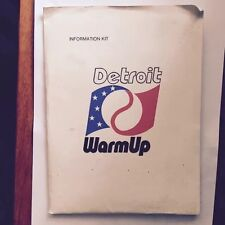 1971 All Star Game Detroit Michigan Warm Up Information Kit Baseball Souvenir