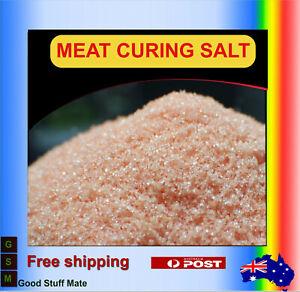 ORGANIC Salt Cure #1 Meat Pork Ham Beacon Prague Pink Curing Salt FREE FAST POST