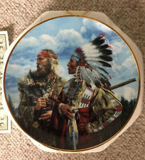 """In The Beginning.Friends"" Collector Plate by Paul Calle - The Franklin Mint"