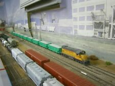 COMPLETE UP BALLAST TRAIN, ATHEARN GENESIS & RTR, BLUFORD SHOPS, DCC & SOUND