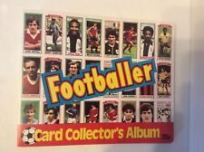 1981-82 FOOTBALLER CARD COLLECTORS  ALBUM LOT OF 9NEVER USED