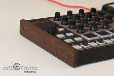 Akai Rhythm Wolf Tom Cat Side Panel Real Wood Oak Wooden Side Panel End Cheek Do