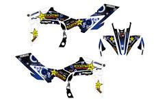 Yamaha YFZ 450R 450X 09-13 graphic decal kit stickers 450r 2009 to 2013 racing