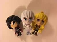 Rooster Teeth RWBY Mystery Figures Series 1 - Weiss, Yang, Ruby (Lot of 3)