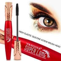 Red tube mascara big eye makeup waterproof is not easy elongated curl smudg G7Q7