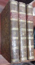 Botta STORIA D'ITALIA continuata da quella del Guicciardini sino al 1789 Palermo