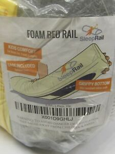 SleepRail Foam Bed Rail Toddler Bumper with Cover New in package Safety guard