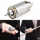 4.9FT Portable Martial Arts Magic Pocket Metal Silver Telescopic Rod Staff