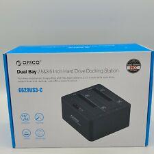 "ORICO Dual Bay 2.5"" 3.5"" USB 3.0 SATA Hard Drive Docking Station Offline Clone"