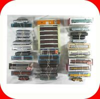 N Scale Passenger Car Sets -Kato,Atlas,Model-P,Con-Cor 2/3/4/5-Set Variation Lot