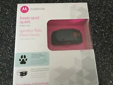 Motorola Dog No Bark Collar SCOUTBARK100 9 Static Correction Levels Waterproof