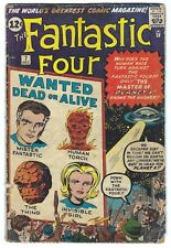 Fantastic Four #7 Silver Age Marvel Comic Book 3.0 GD/VG Jack Kirby Stan Lee