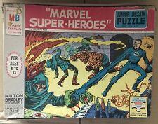 Vintage Milton Bradley 1967 MARVEL FANTASTIC FOUR JIGSAW PUZZLE! MARVELMANIA!