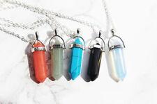 Quartz Chain Gemstone Costume Necklaces & Pendants
