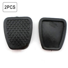 2x Auto Car Black Genuine Brake / Clutch Pedal Rubber Covers Universal