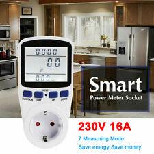 Digital Leistungsmesser Einspeisezähler Wattmeter Stromzähler Energiemonitor