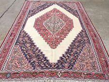 £2250 Liberty Old Senneh Persian Kilim, kelim, country house boho vintage rustic