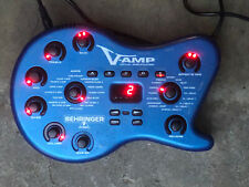 Behringer V-Amp 2 Virtual Guitar Effects Amp With Bag Footswitch